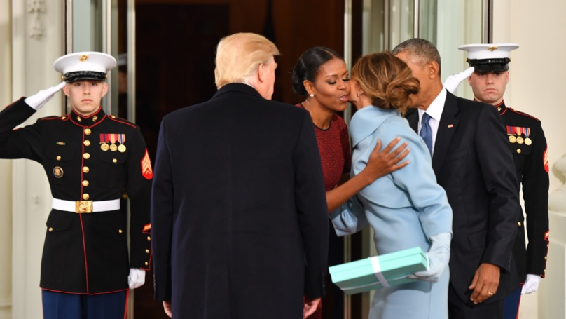 Michelle Obama reveals Melania Trump's Inauguration Day gift