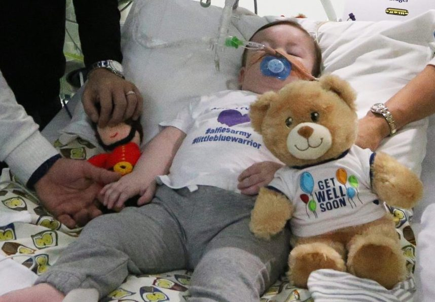 More treatment for seriously ill baby 'inhumane'