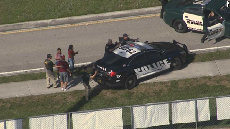 Parkland Florida High School Shooting: Parents, students describe scene of chaos, fear