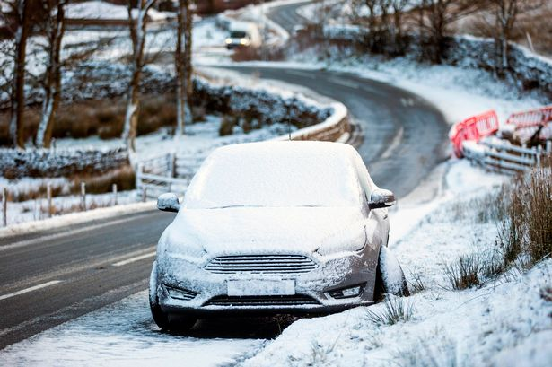 Snow and ice warnings as wintry conditions grip UK