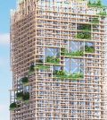 Tallest Wooden Skyscraper to Plant Itself in Tokyo