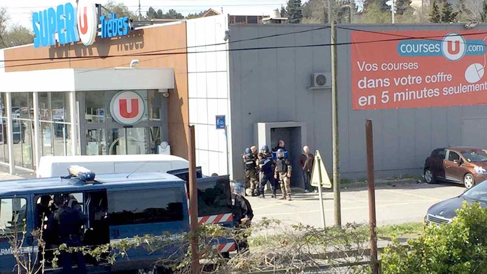 France Gunman Hostage: 2 killed, about a dozen wounded in supermarket siege