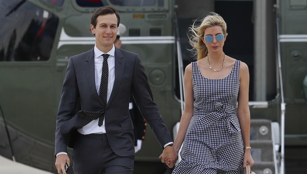 Ivanka Trump And Jared Kushner's helicopter suffers engine failure