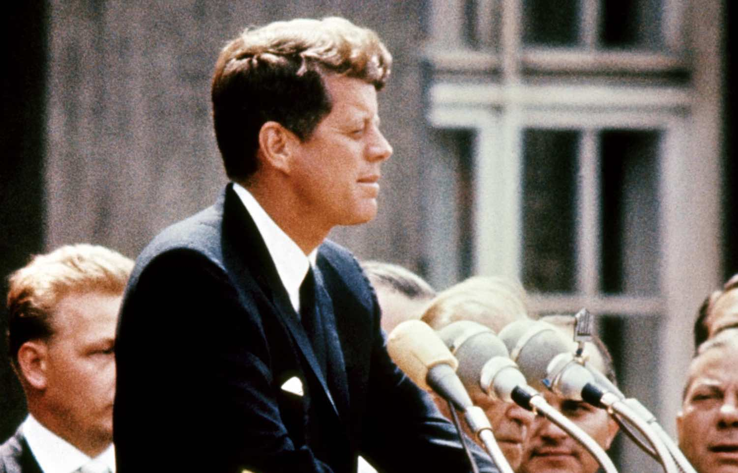 Kennedy's 'lost' speech brought to life 54 years after his death