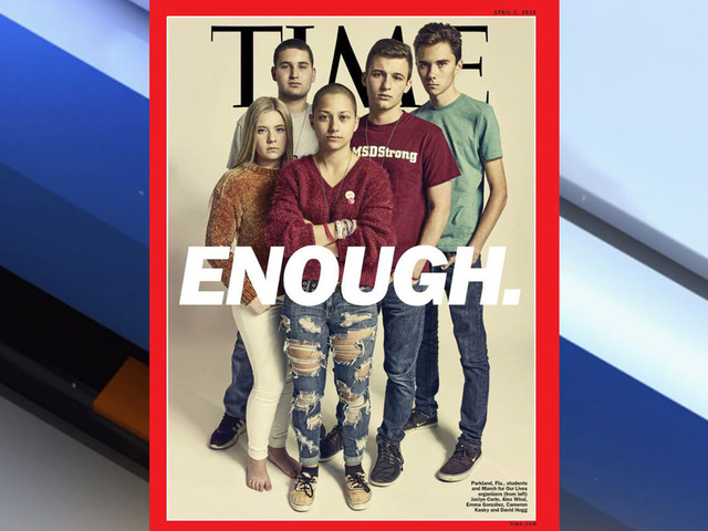 Parkland On Time Cover ahead of March for Our Lives