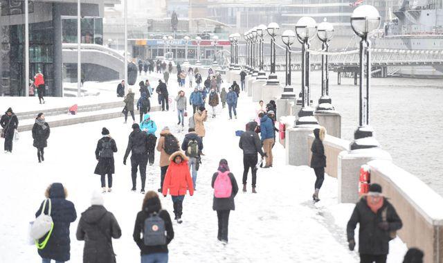 'Risk to life' warning as UK freezes