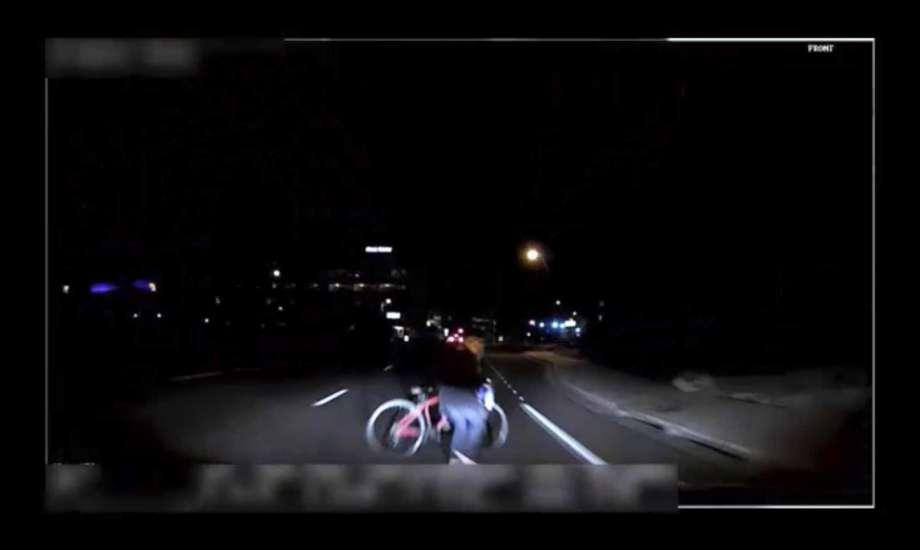Self-driving car crash: video shows final seconds before fatal Uber crash