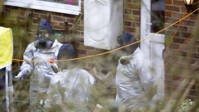 Sergei And Yulia Skripal Poisoned At Home, UK Police Say