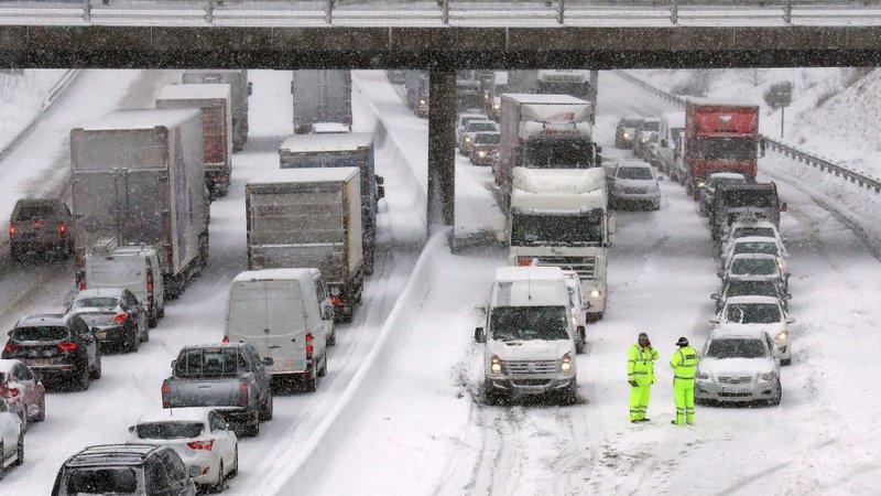 Storm Emma - UK: Snow causing widespread travel disruption