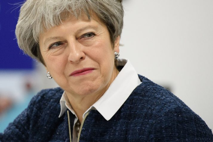 Theresa May to EU leaders: Russia is a threat to us all, Report