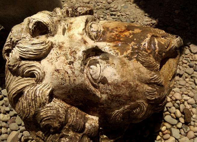 Bust of Roman Emperor Discovered in Egypt