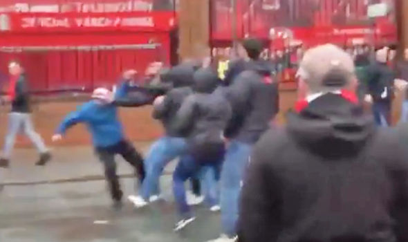Anfield Attack: Arrests after Liverpool fan in critical condition