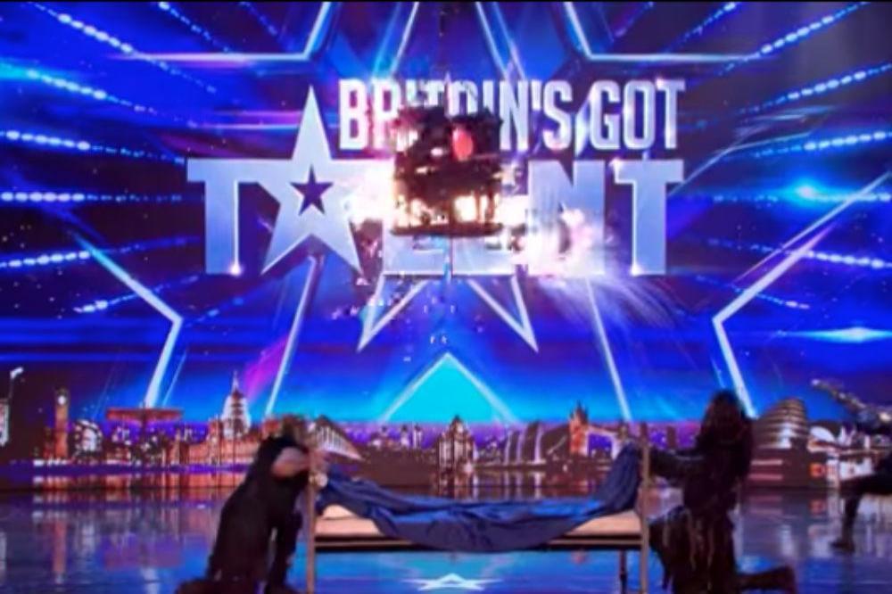 Britain's Got Talent fans left hiding after illusionist's shock stunt (Watch)