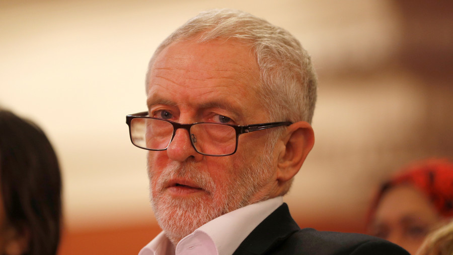 Corbyn condemns Syria airstrike as 'legally questionable'