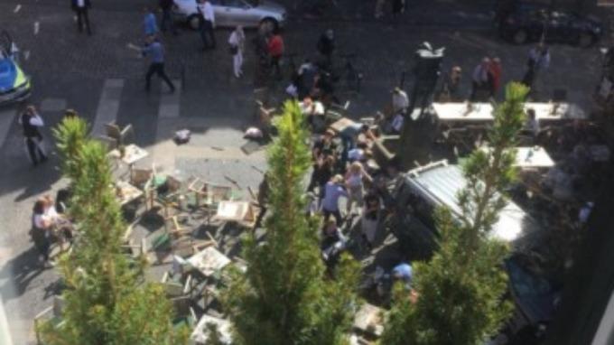 Germany Van Crash: 3 dead after van ploughs through beer garden