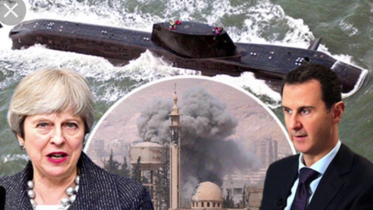 """UK submarines """"move within missile range of Syria"""""""