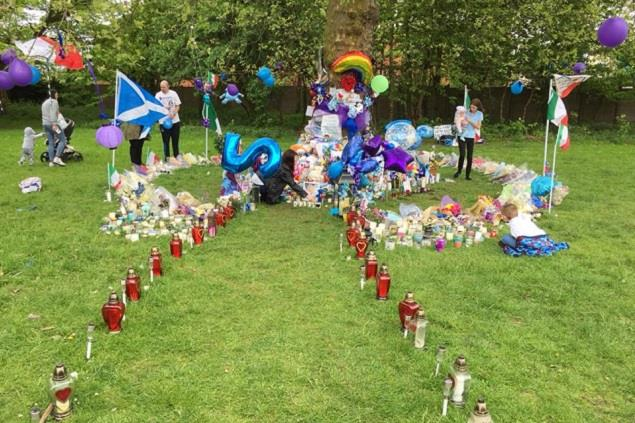 Alfie Evans Gifts Stolen from hospital memorial tree