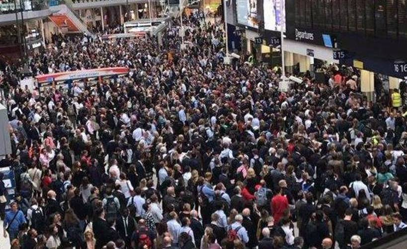Bank Holiday travel chaos as trains, Roadworks, rail strikes and track closures