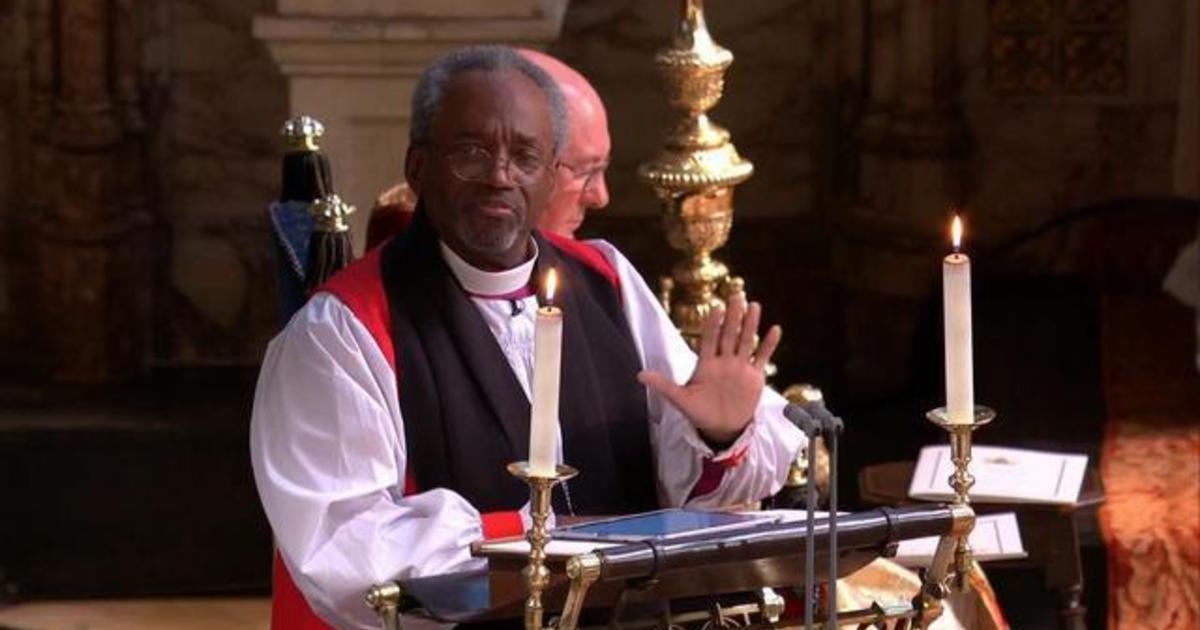 Bishop Michael Curry's Royal wedding speech (Video)