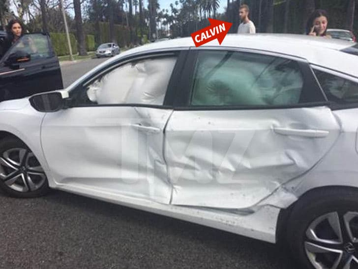Calvin Harris involved in weekend car crash, Report