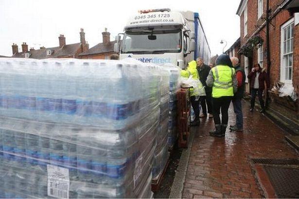 England gets water shortage warning