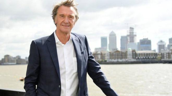 Jim Ratcliffe is UK's richest man, Report