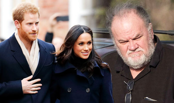 Meghan Markle Father To Miss Wedding (Official)