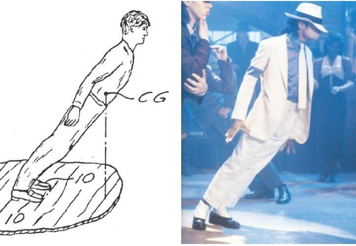Michael Jackson's gravity-defying dance move (Video)