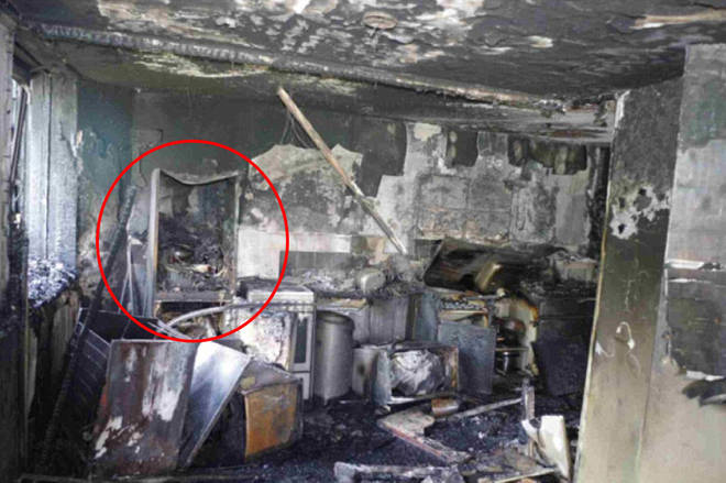 Grenfell: First pictures reveal devastation wreaked by fire
