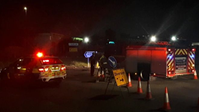Manchester Hit-and-run: Five seriously injured in Trafford Park