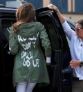 Melania Trump's jacket was no mistake (Photo)