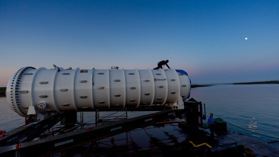 Microsoft launches underwater data center off Scottish coast