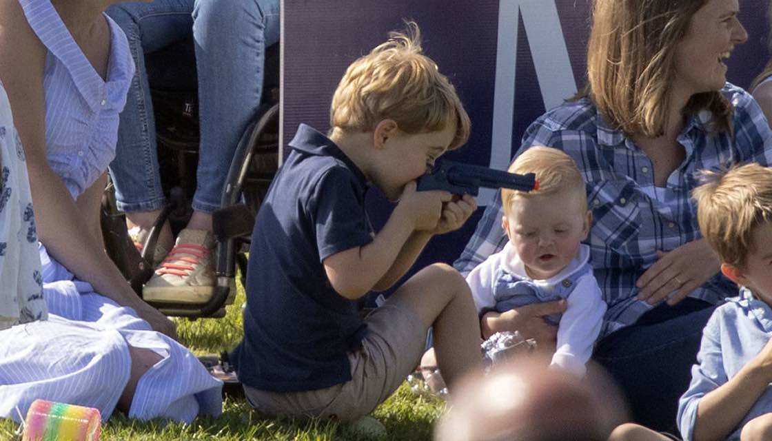 Prince George's Toy Gun Sparks Outrage (Photo)
