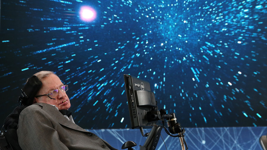 Stephen Hawking's voice to be beamed into black hole, Report