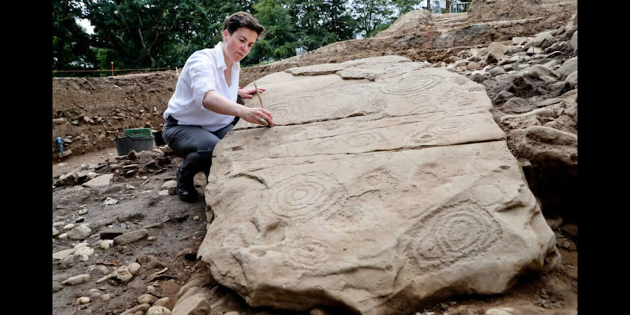 5500-year-old tomb is found in Ireland