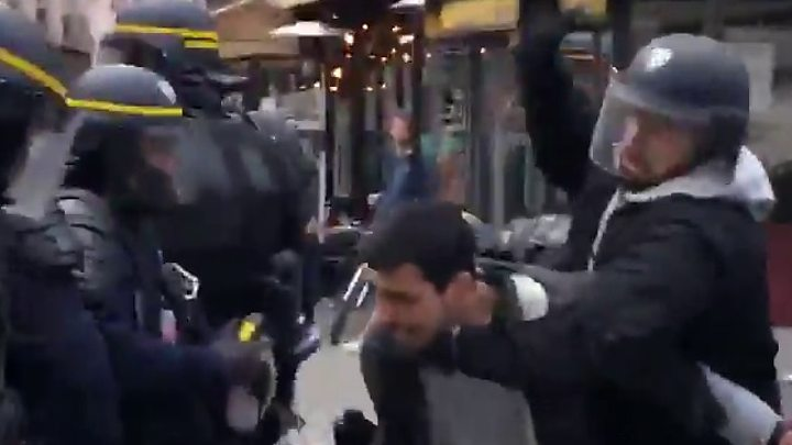 Alexandre Benalla, Macron bodyguard who violently struck protester to be fired
