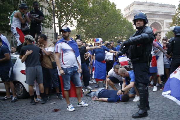 Two France Fans Die as France's World Cup celebrations