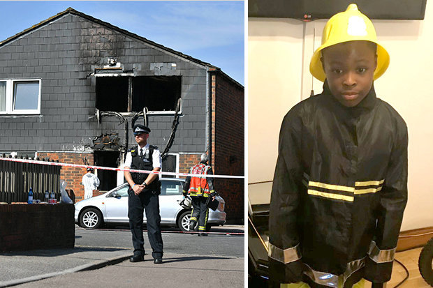 Boy, 7, dies in suspicious house fire in London, Report