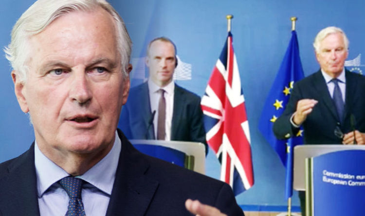 Michel Barnier: EU not impressed by UK's no-deal Brexit blame game