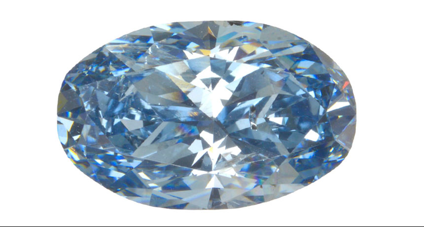 Rare Blue Diamonds Are Proof the Earth Recycles