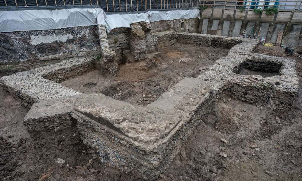 Roman library reemerges in Germany after 2000 years (Photo)