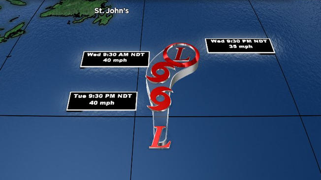 Storm Debby latest: Still no threat to land