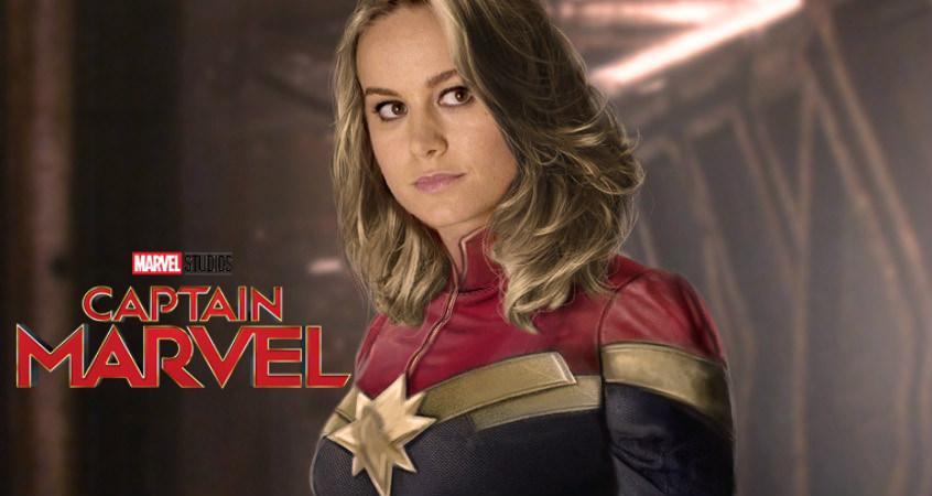 Brie Larson Teases Massive 'Captain Marvel' (Photo)