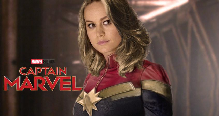 Brie Larson Teases Massive 'Captain Marvel' (Photo)