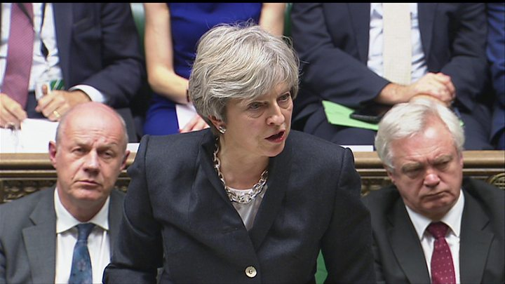 Deal or no deal? Theresa May's moment of truth on Brexit, Report