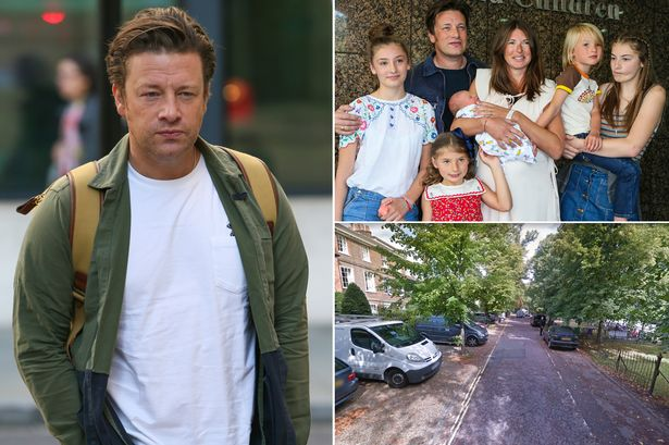 Jamie Oliver called a 'hero' for chasing after intruder at family home