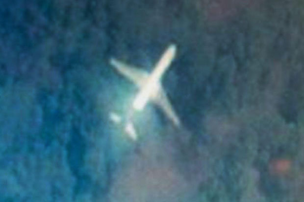 MH370 is in jungle? Man spots MH370 on Google Maps