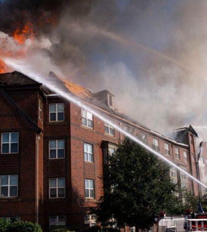 Man found alive 5 days after washington DC building fire