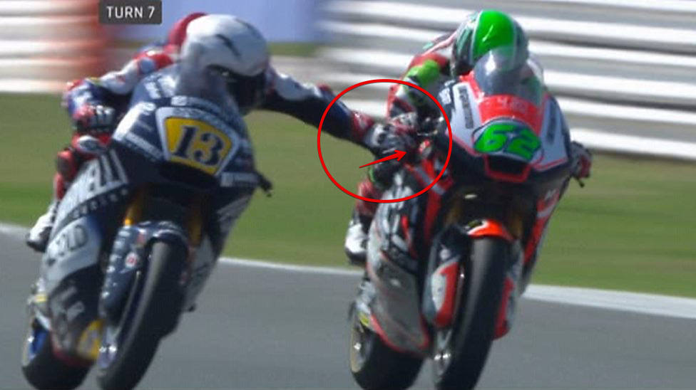 Moto2 Rider brakes: Romano Fenati handed two-race ban (Watch)