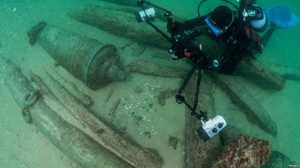 Portugal: 400 year old shipwreck found off Cascais